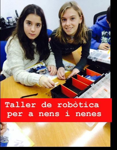 Taller de llenguatje de programació robotica per nens i nenes